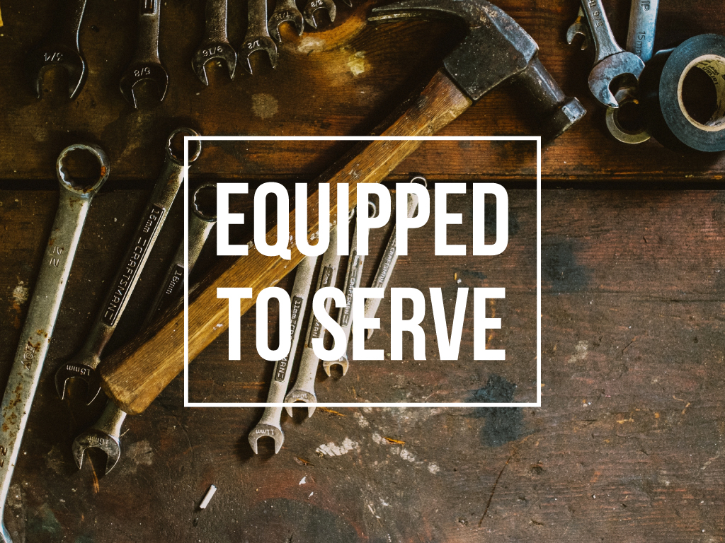 Equipped to serve cover