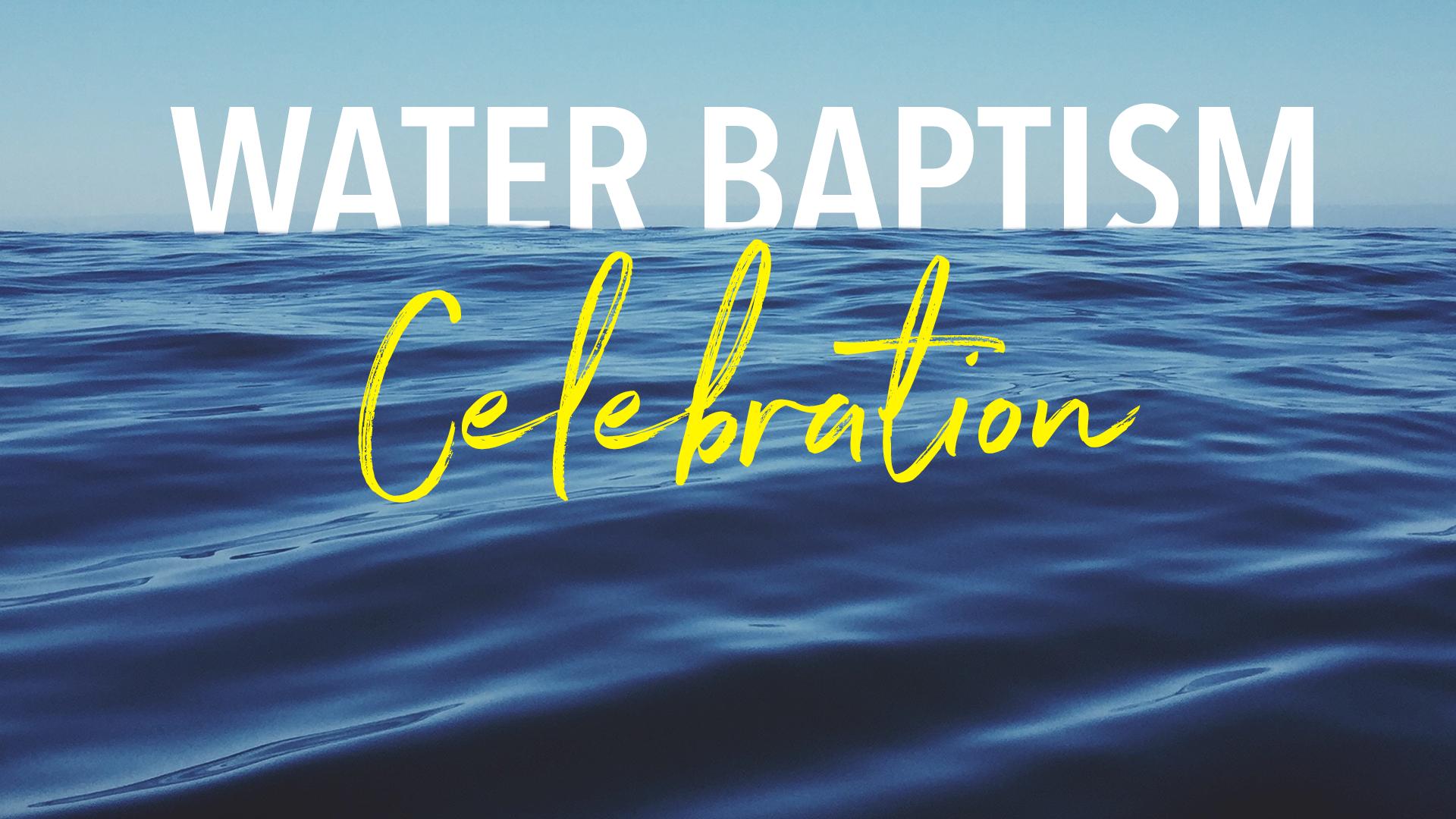 Water baptism slide