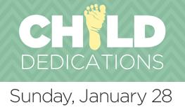 Child dedication web button