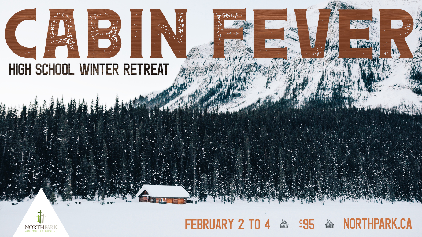 Cabin fever   main graphic  font 2