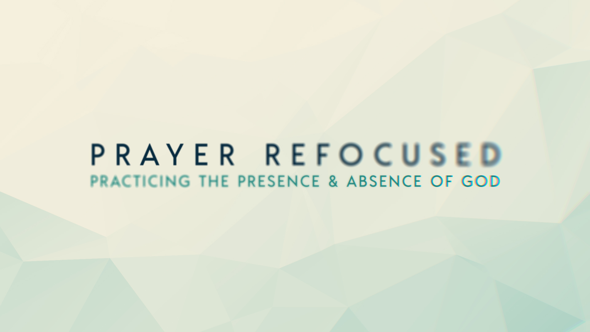 Prayer refocused v2  1