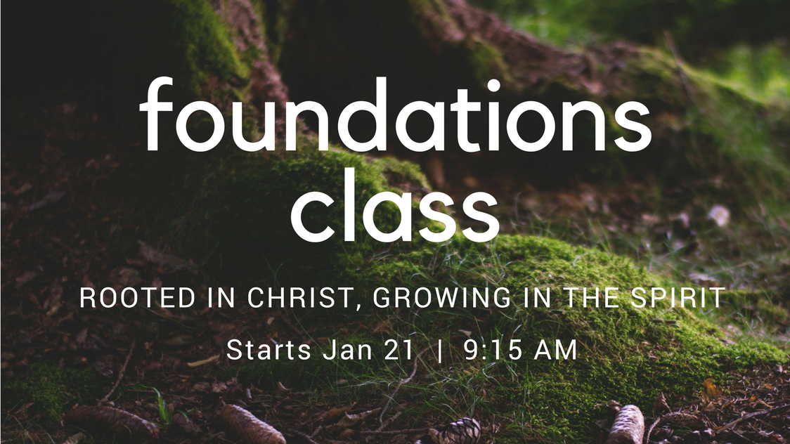 Foundations class registration image