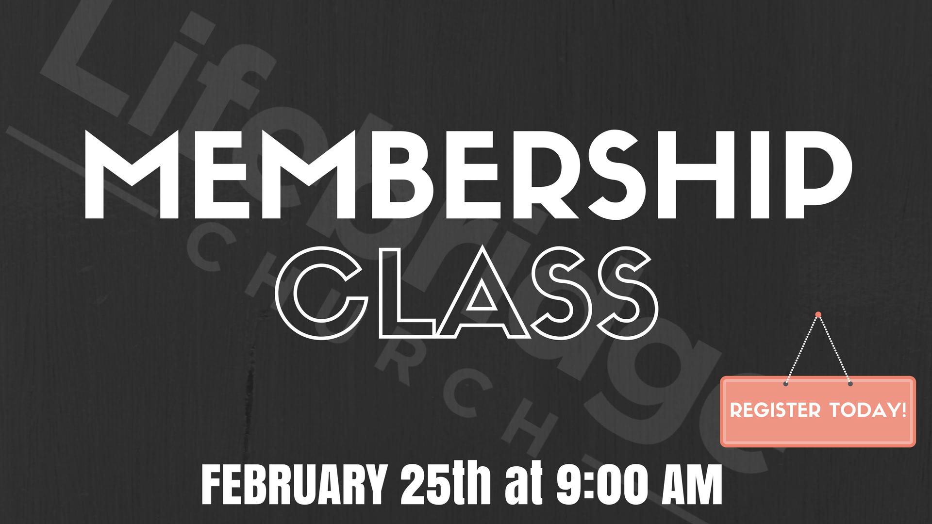 Membershipclass022018
