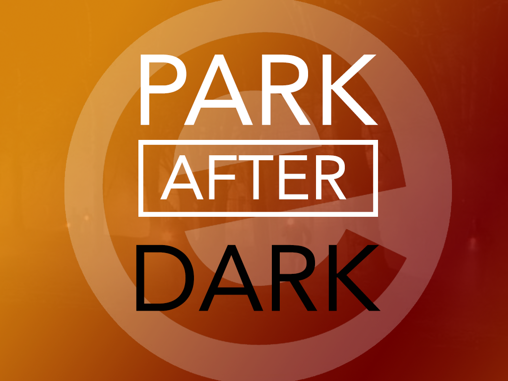 Park after dark event