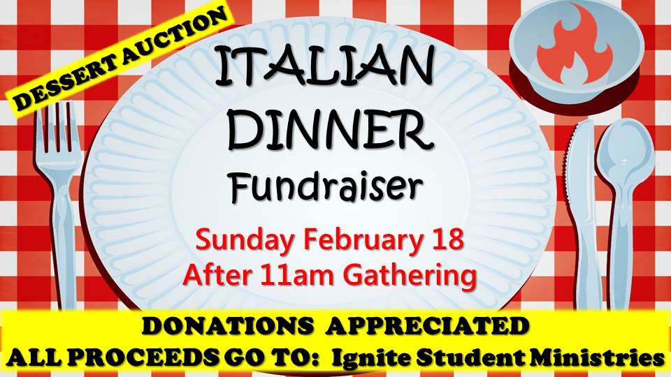 2.18.18 italian dinner fundraiser ignite nationals