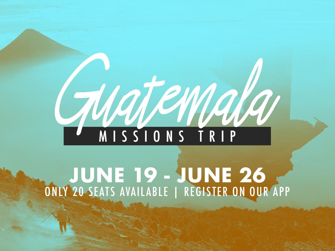 Guatemala missions trip 1096x822