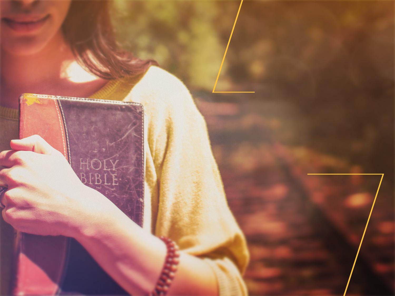Woman teacher with bible