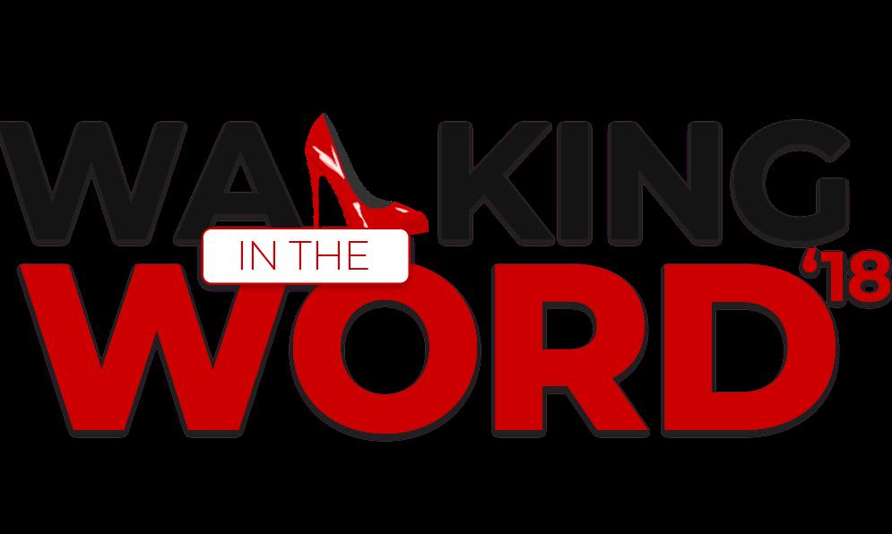Walking in the word logo 1000