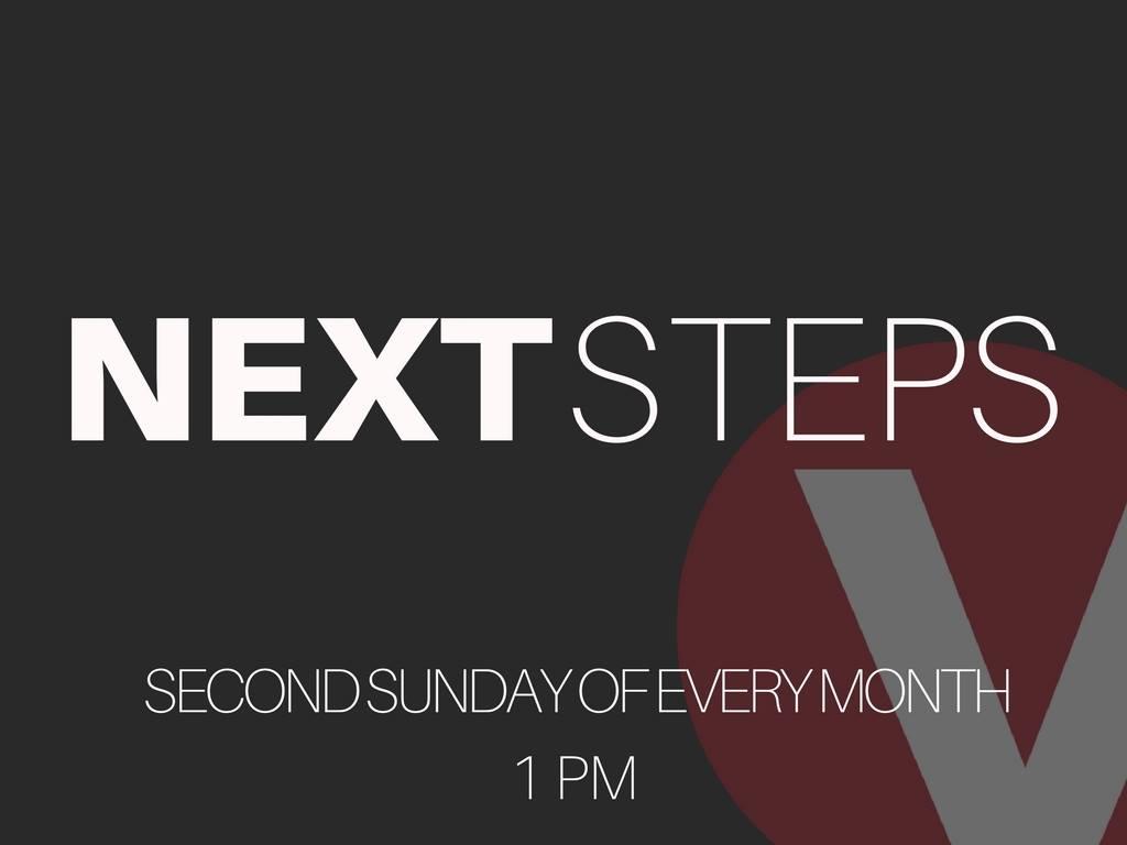 Next steps post pic