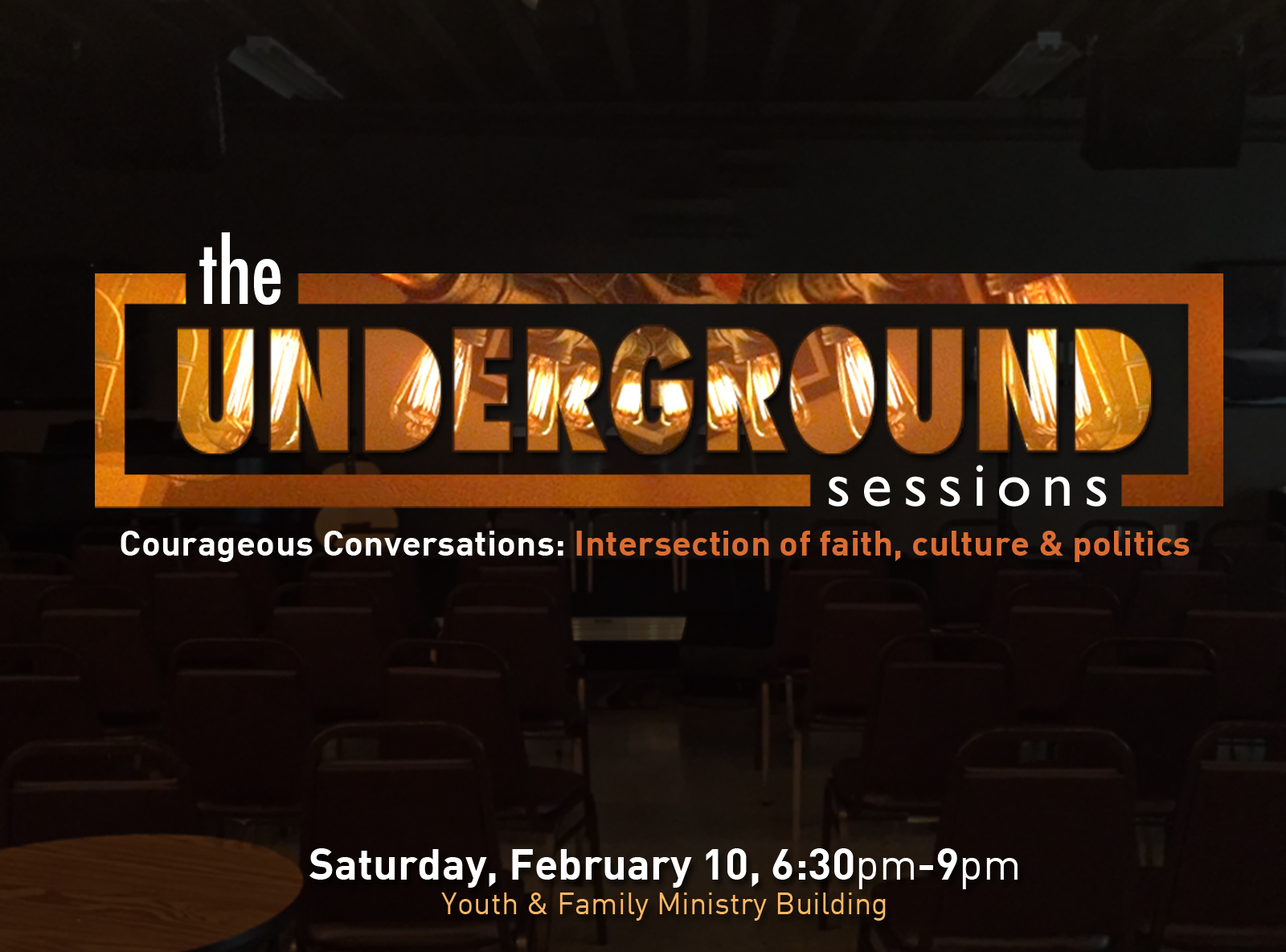 Underground sessions on dark february 2018 square