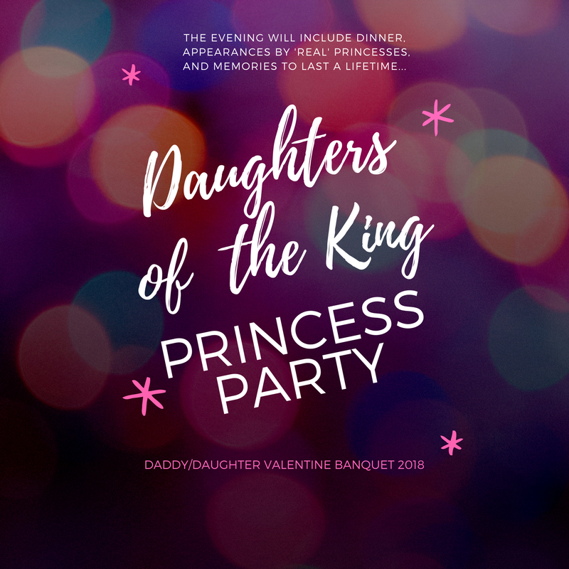 Copy of daughters of the king princess party