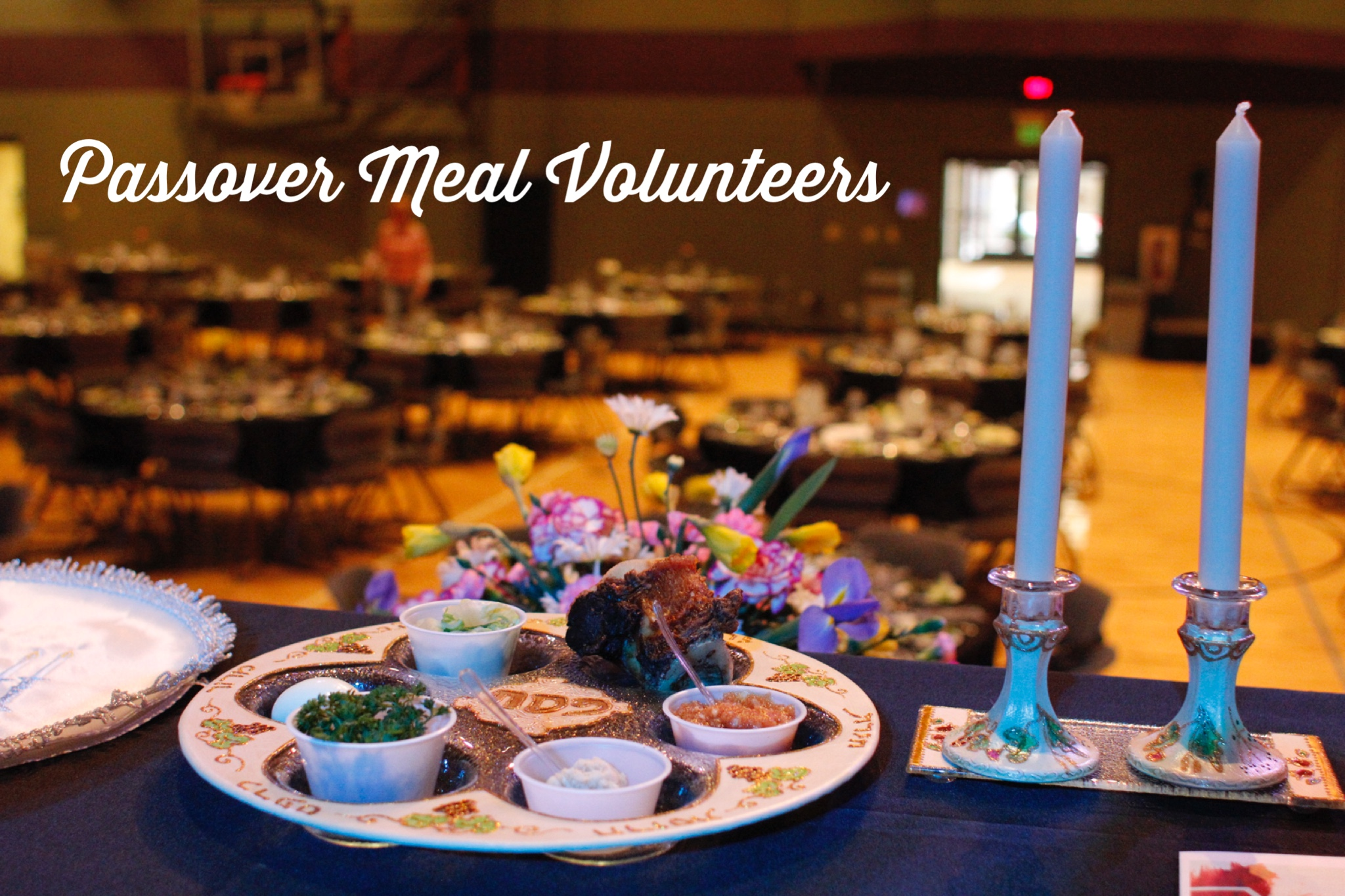 Passover meal volunteers pic