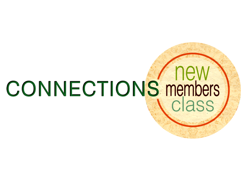 Connections new member class logo