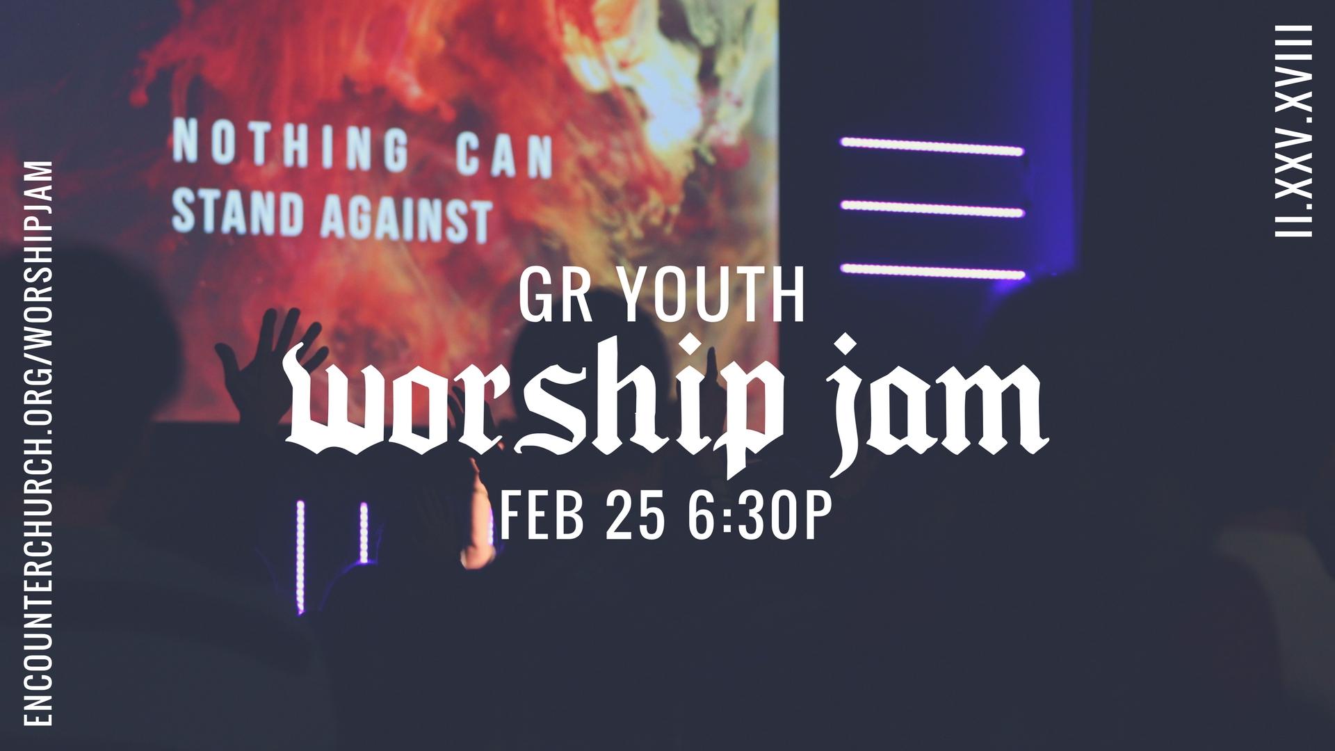 Worship jam 2018