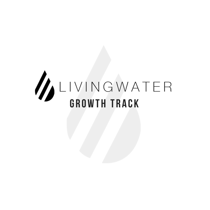 Growth track logo black