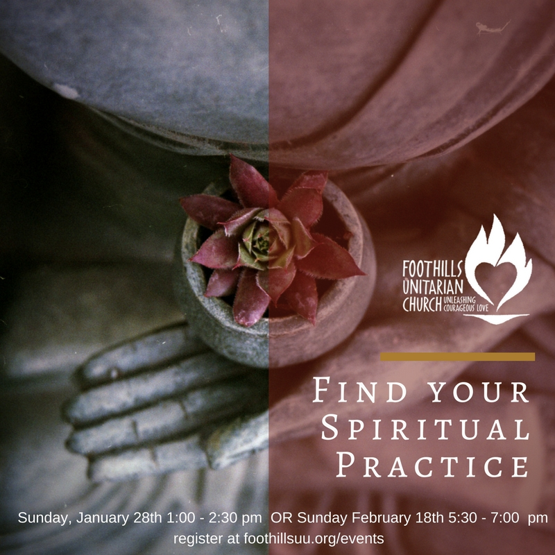 Find your spiritual practice