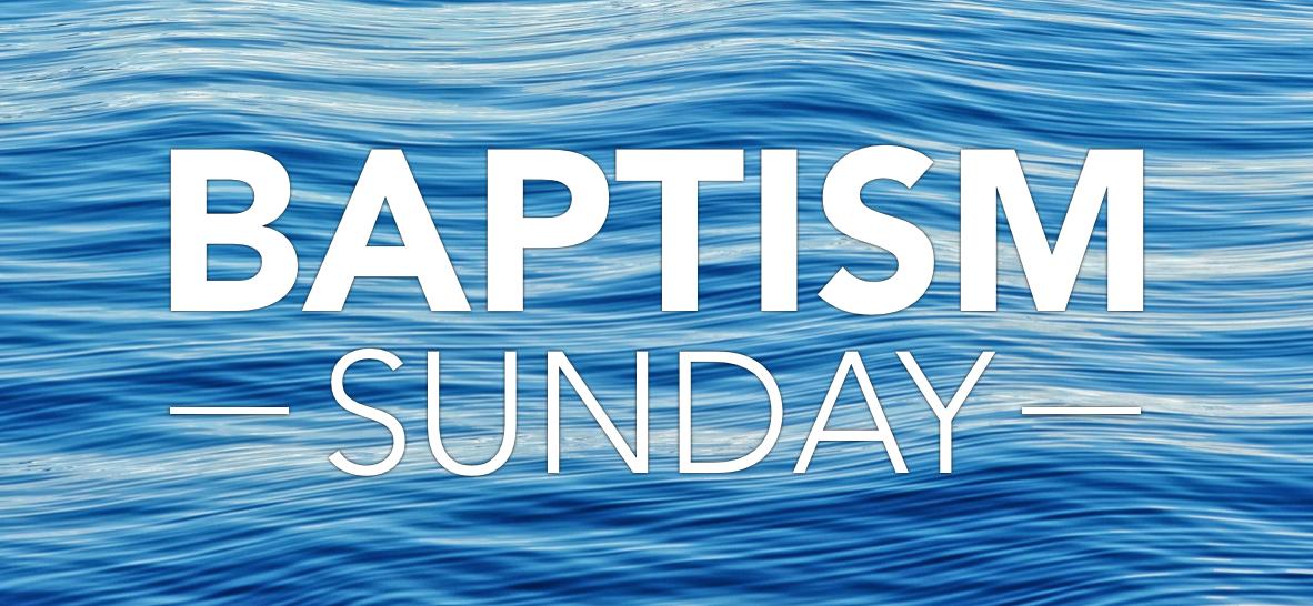 Baptism sunday logo