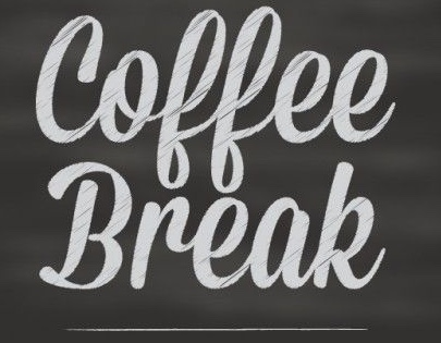 Coffee break graphic