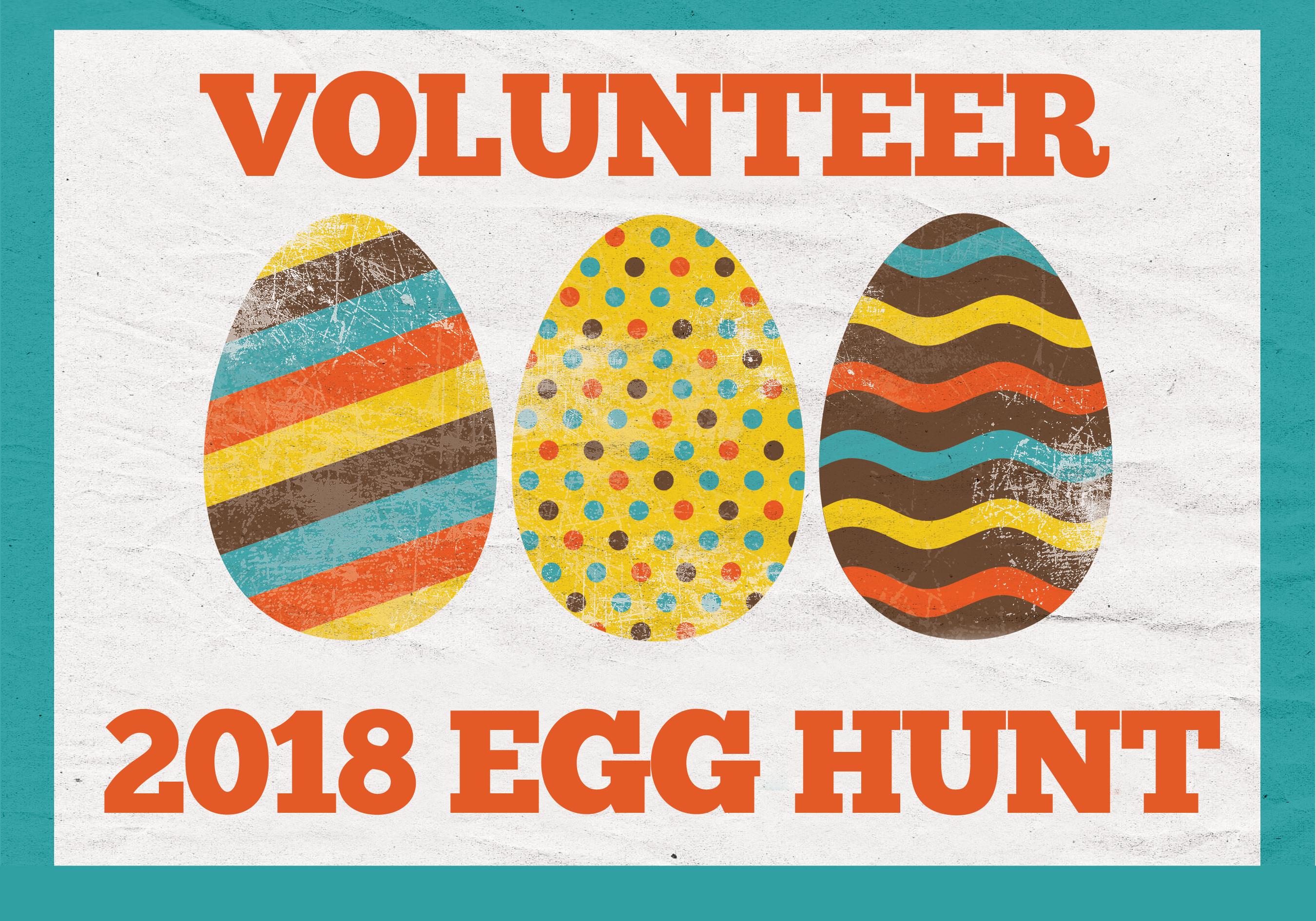 2018 egg hunt volunteer