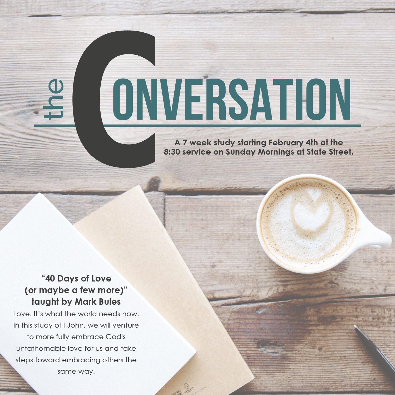 The conversation flyer 01