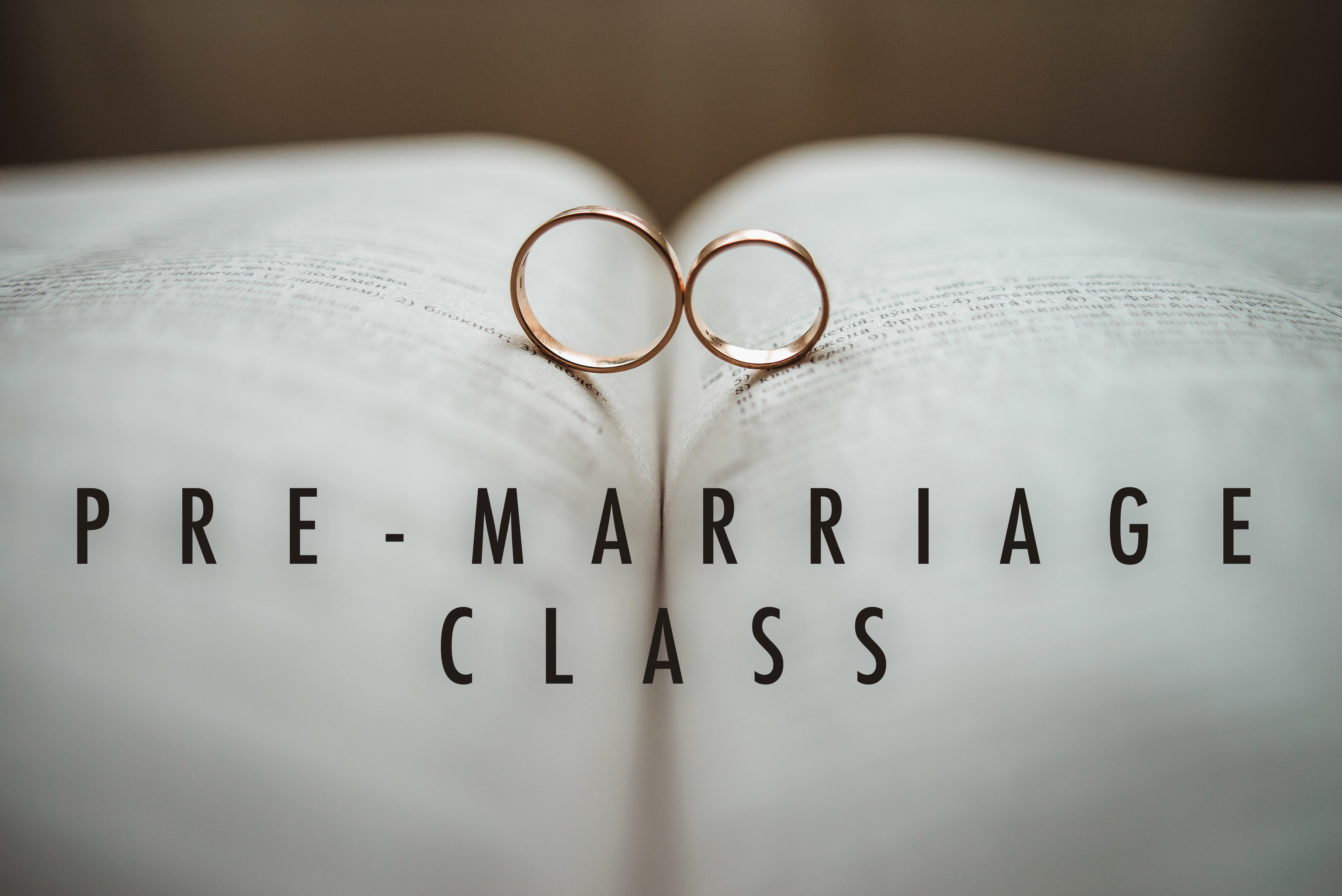 Pre marriage no dates