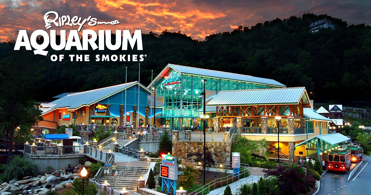 Ripleys aquarium smokies exterior