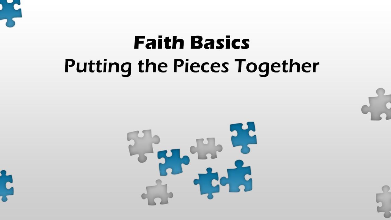 Faith basics cover