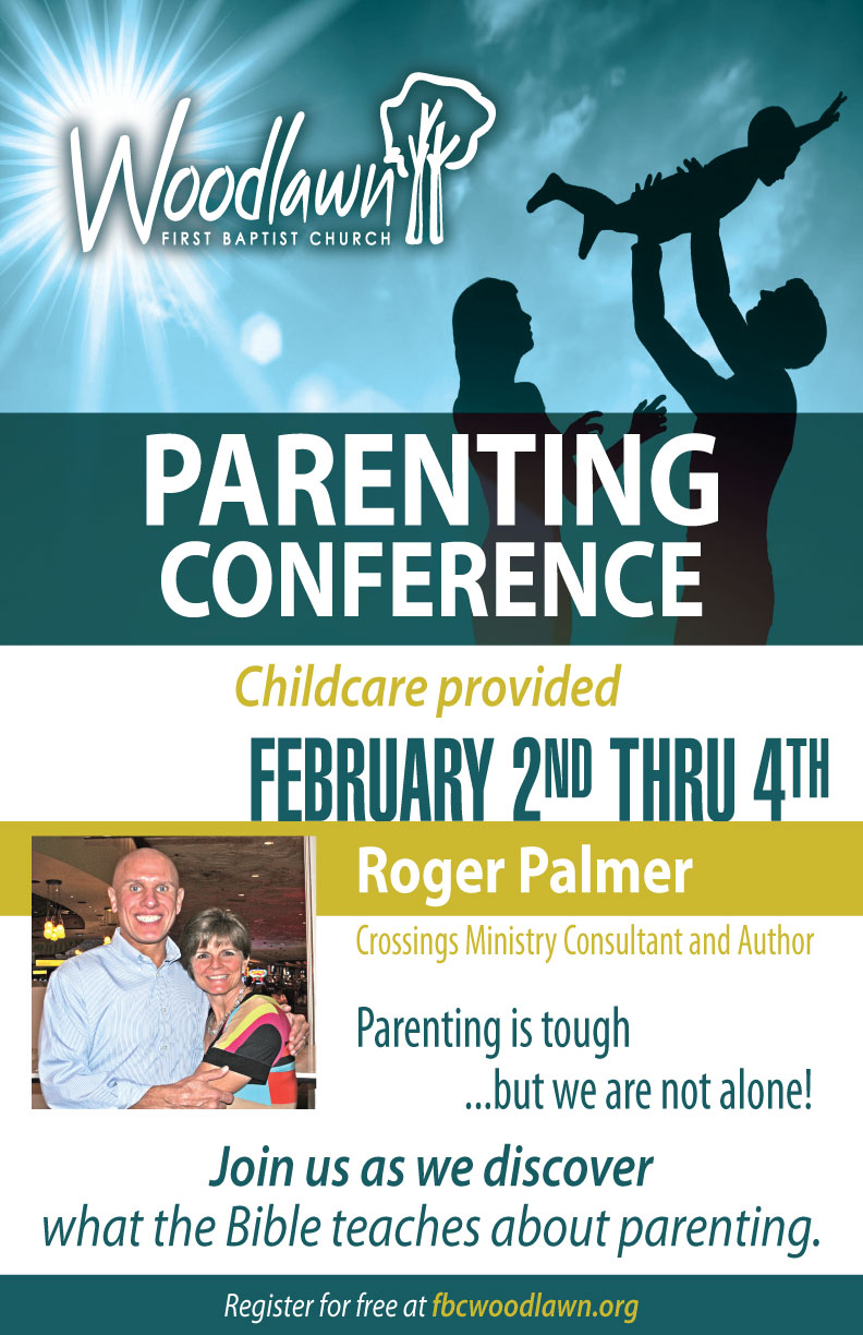 Parentingconference front flyer single