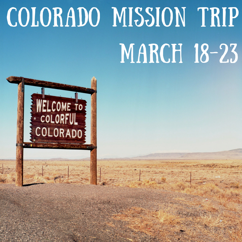 Colorado missiontrip