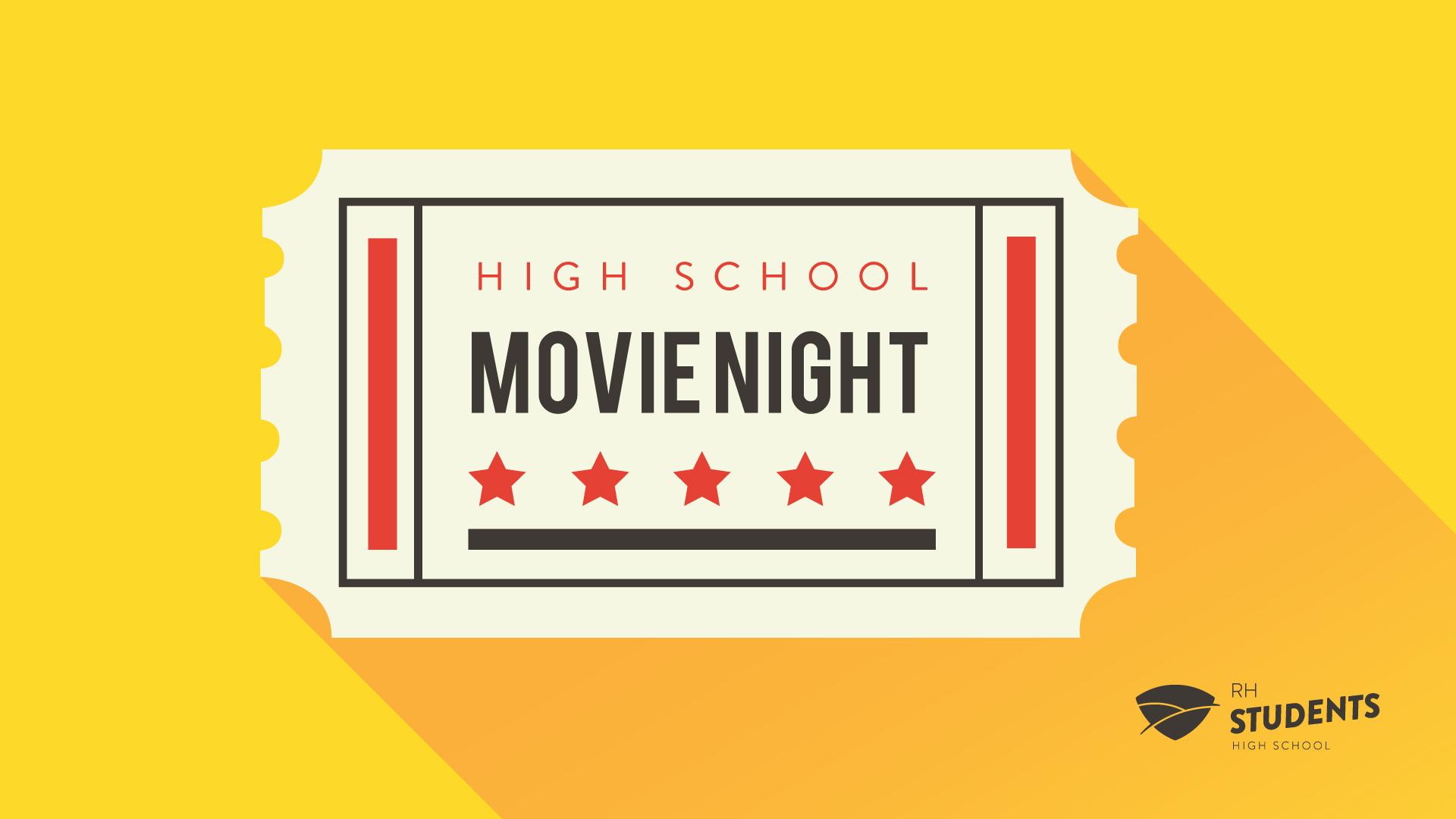Movie night 2018 registration banner