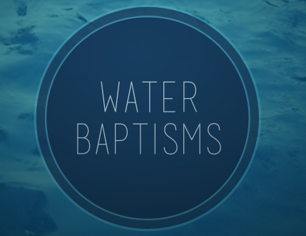 Water baptism pco