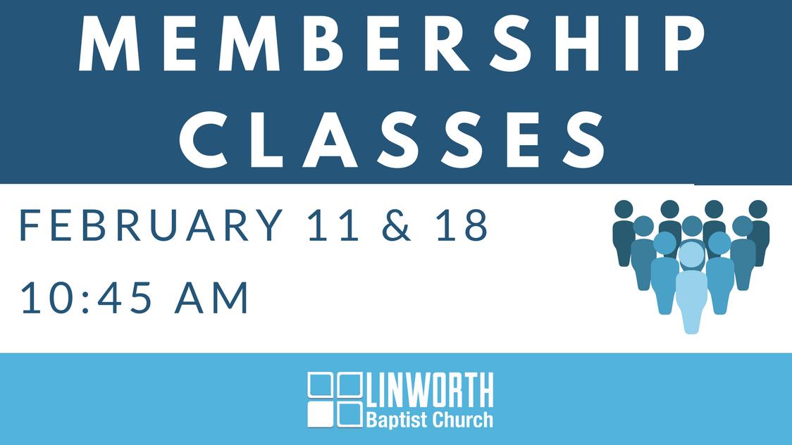 Membership class registration image