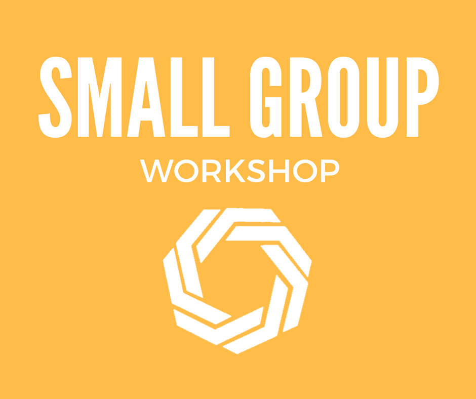 Small group workshop logo