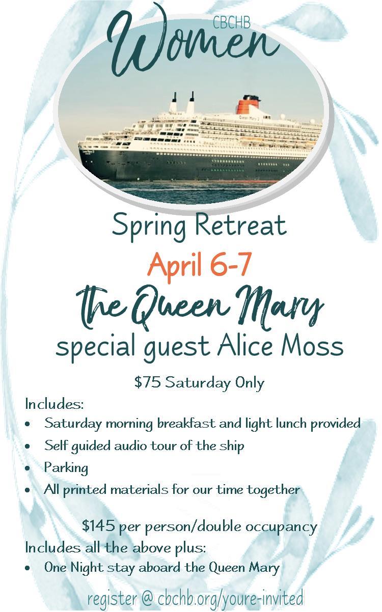 Spring retreat flyer information flyer