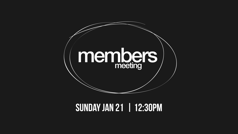 Members meeting web