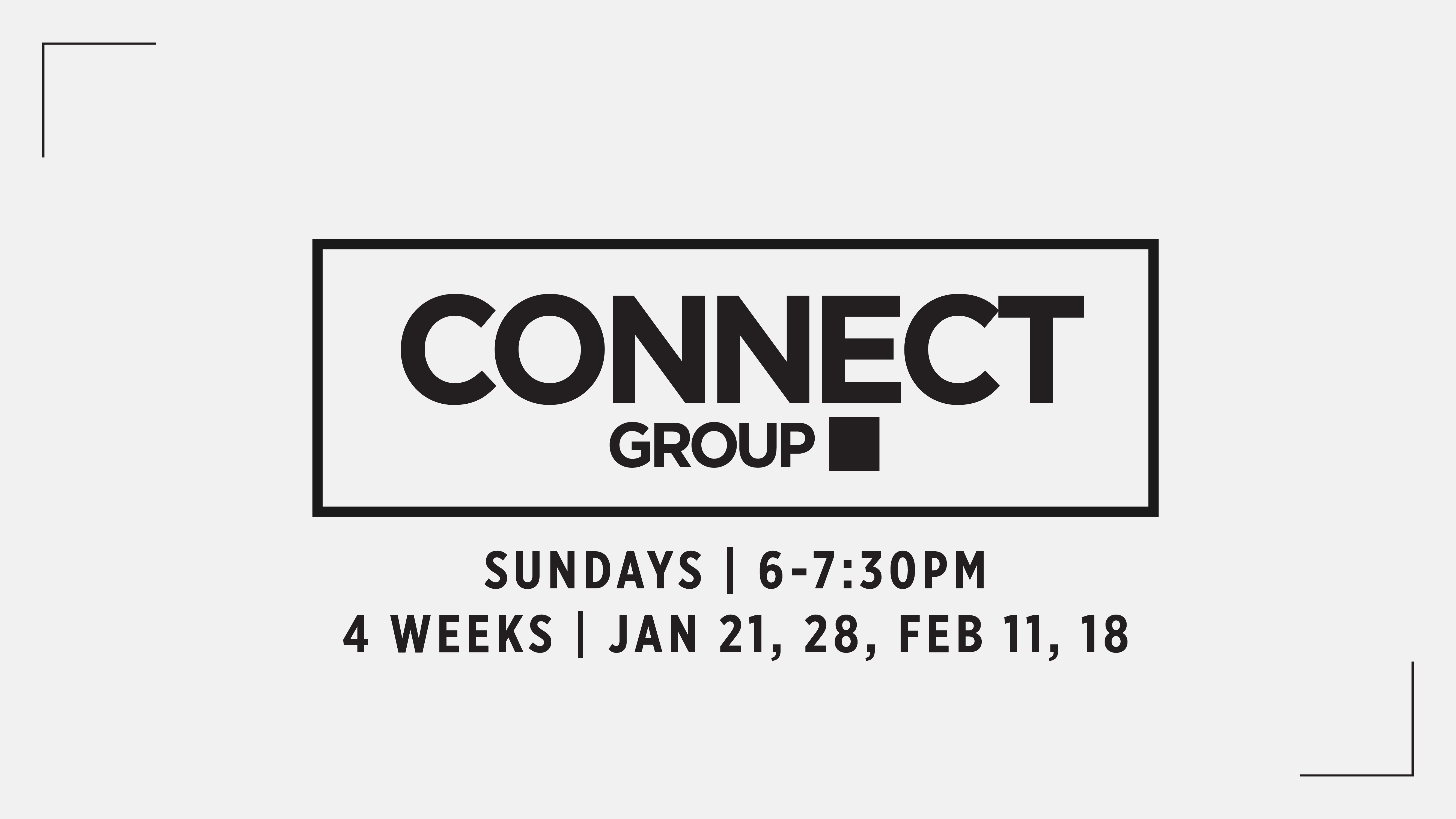 Connect groups web