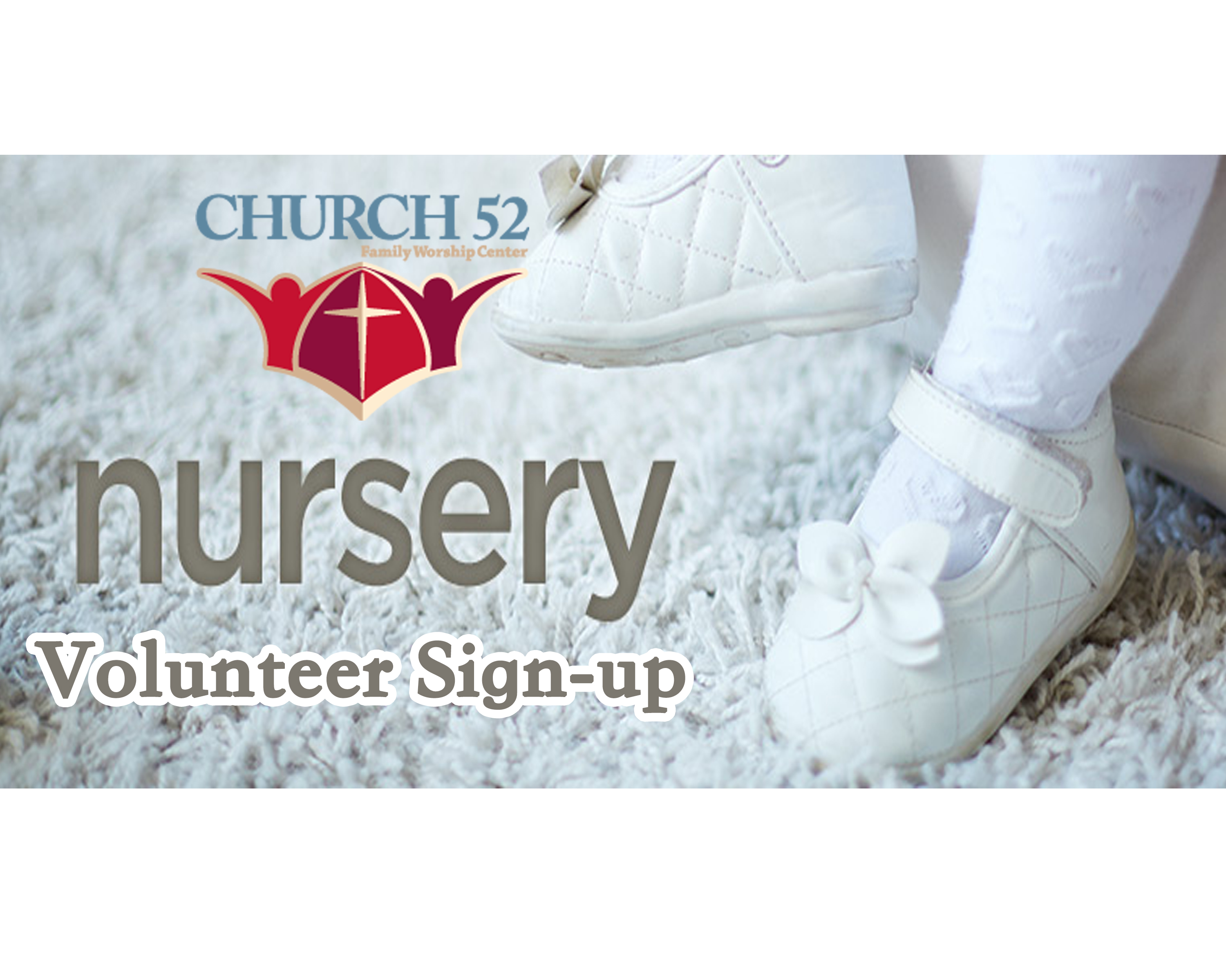 Nursery signup graphic