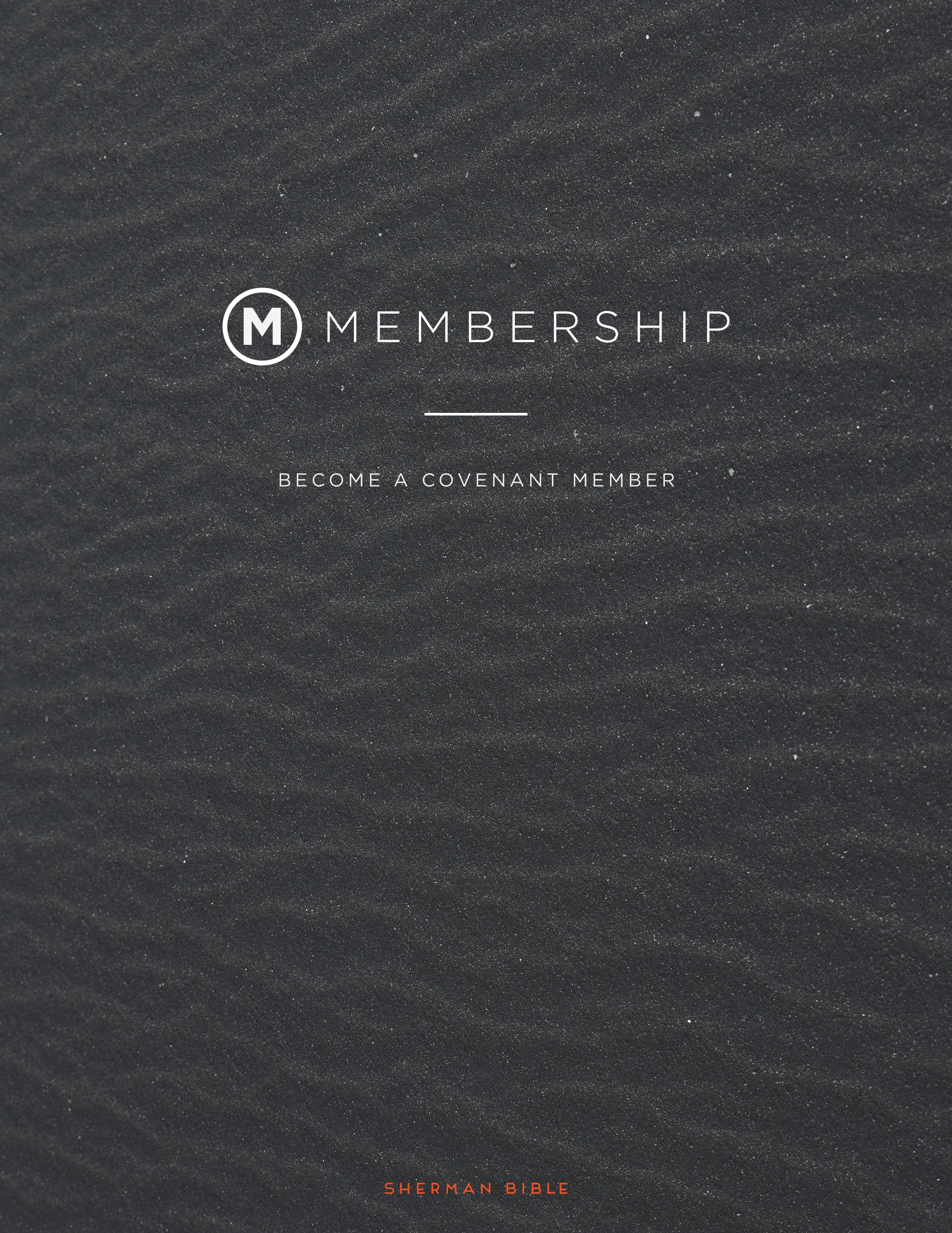Membership cover
