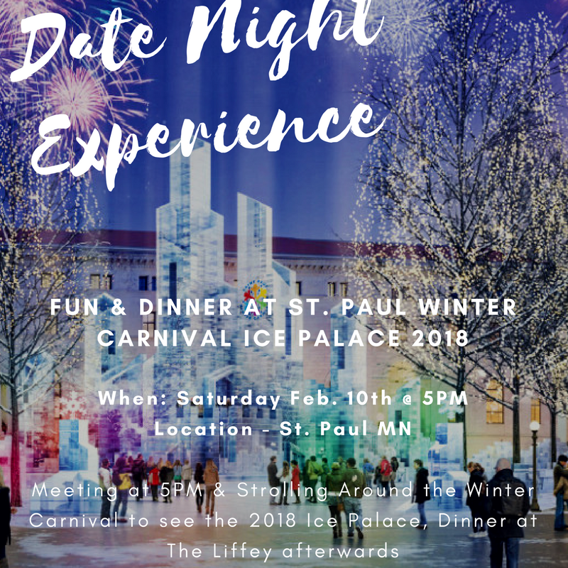 Dinner   fun at st. paul winter carnival ice castle 2018  7
