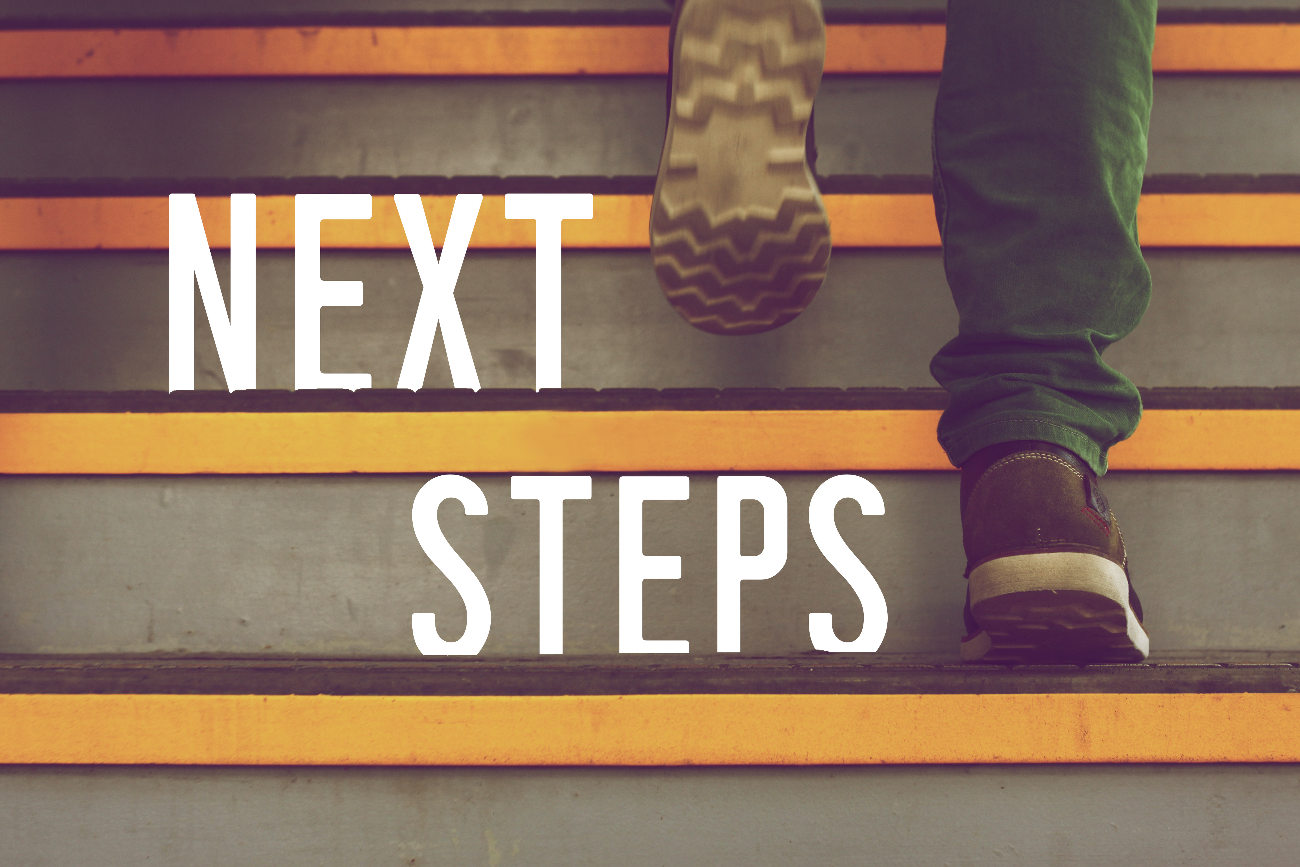 Next steps graphic