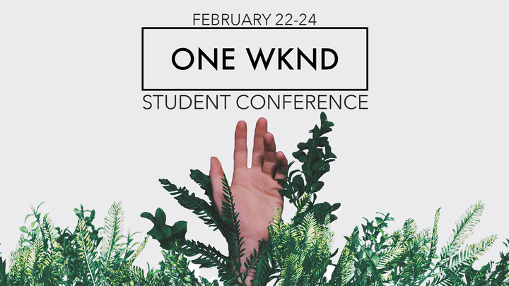 One Weekend Student Conference '19 logo image