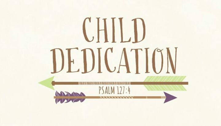 Child dedication rancho