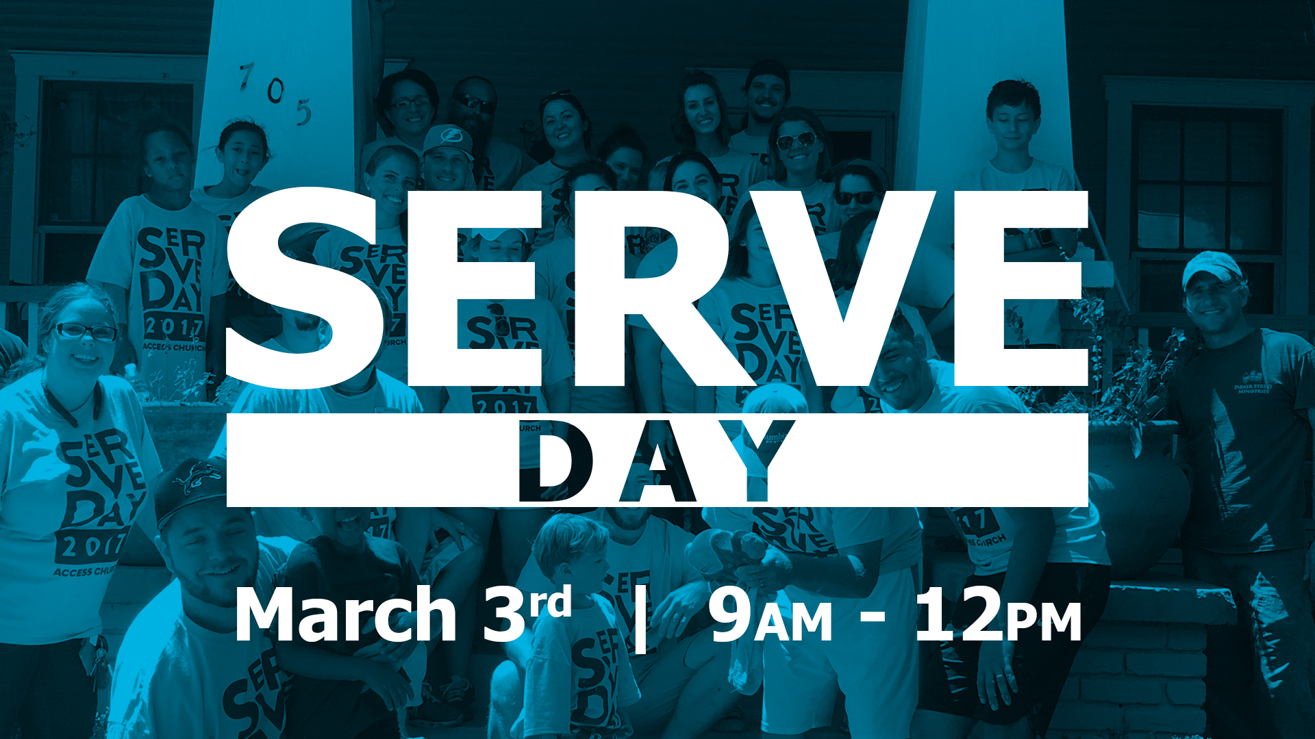 Serve day event