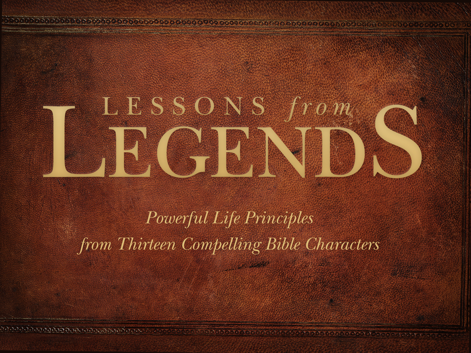 Lessons from legends  title