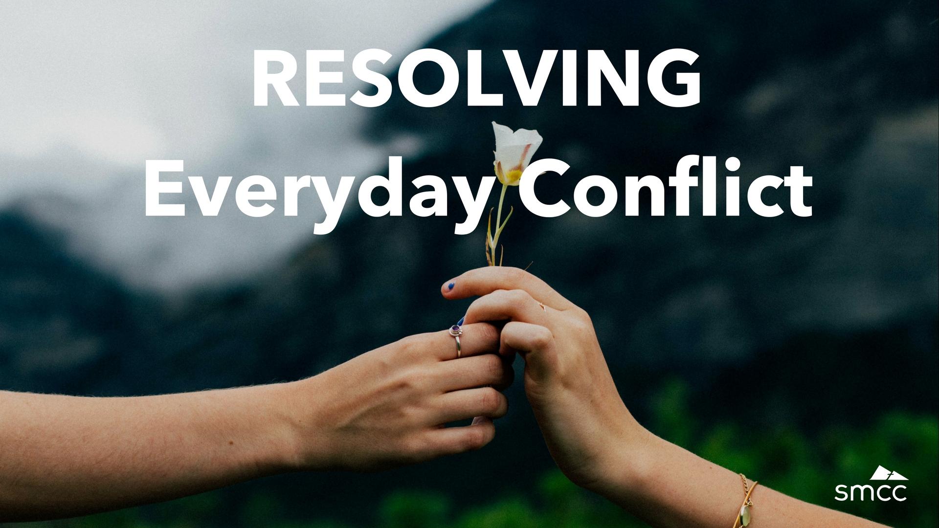 Resolvingeveryday conflict16x9