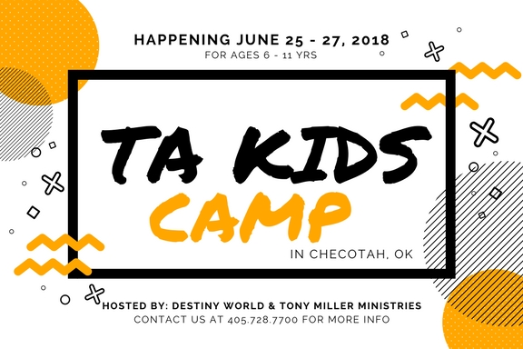 Ta kids camp 4x6 graphic