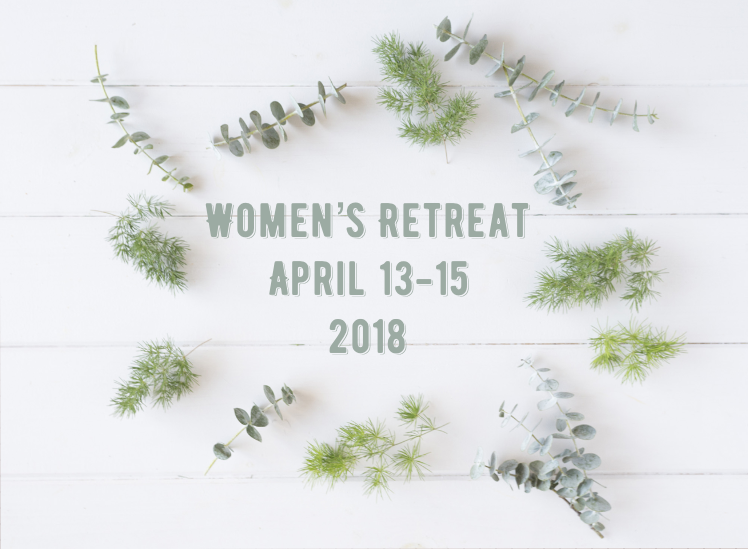 Womens retreat save the date