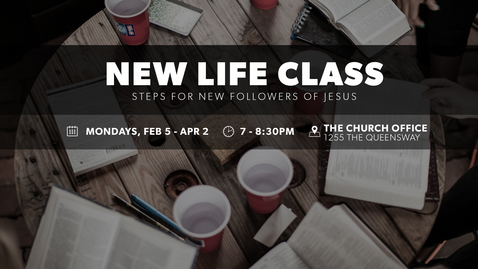 New life class announcement