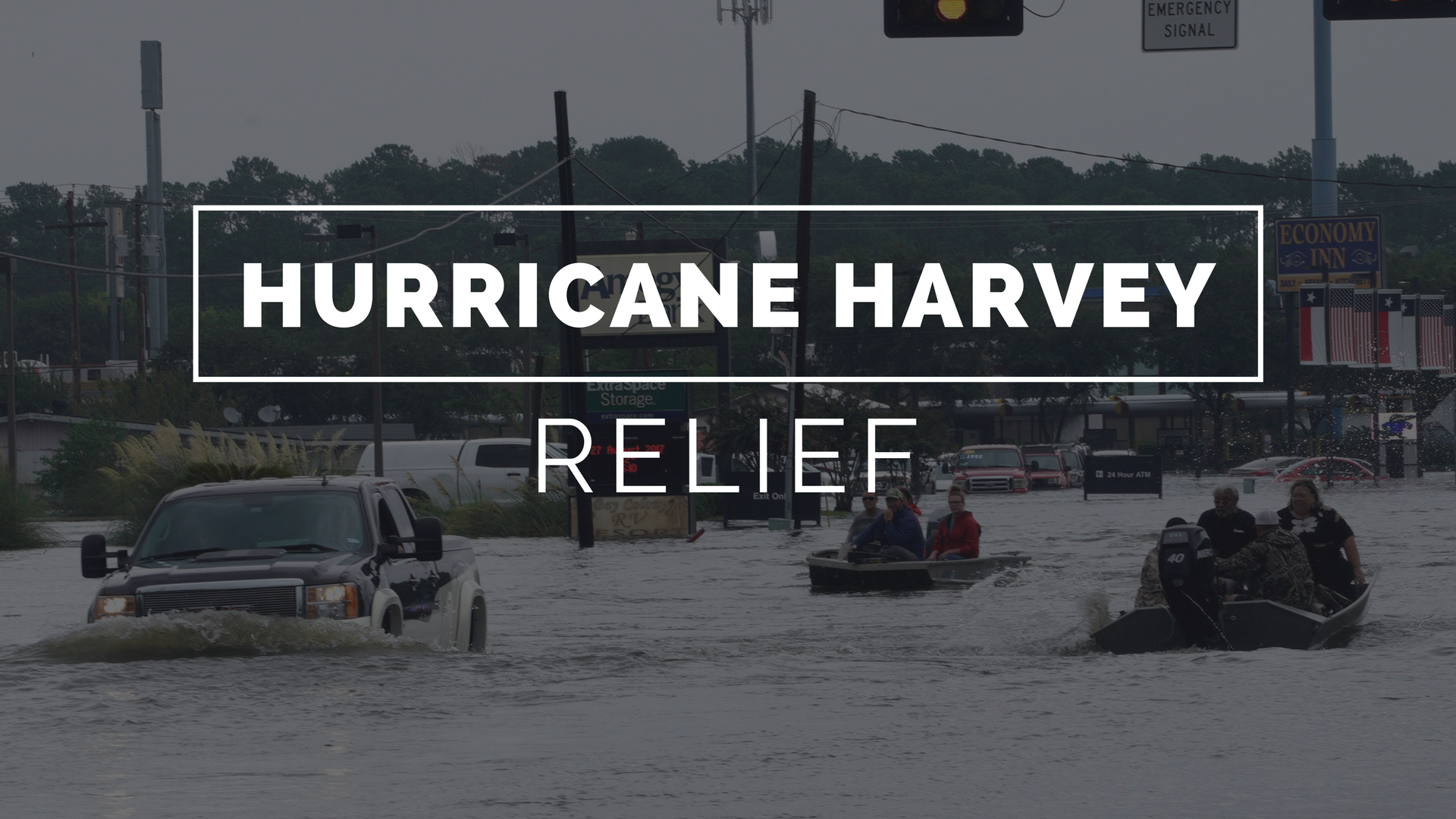 Hurricane harvey relief background