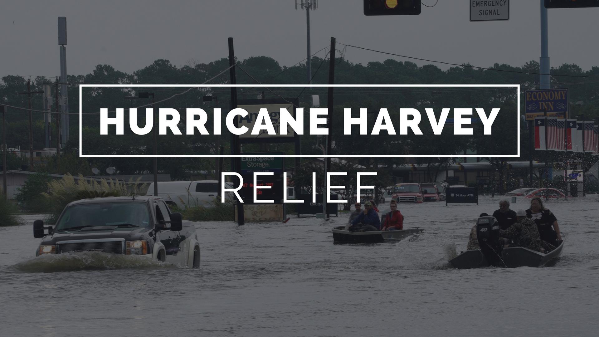 Hurricane harvey relief background